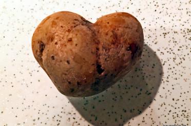 Kartoffelherz für das Montagsherz #192
