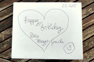 Geburtstagsgeschenk mit Herz für das Montagsherz #195
