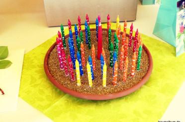 Die Geburtstagskerzen und das Kreative Sonntagsrätsel #23