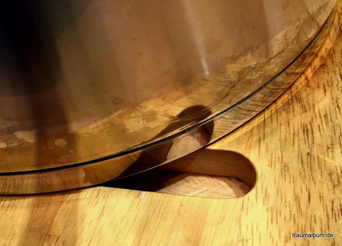 Eine Spiegelung am Kochtopf für das Montagsherz #194