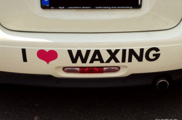 I Love Waxing für das Montagsherz #199