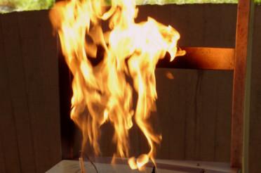 Der Feuerstuhl und die Hexenverbrennung auf Vardö