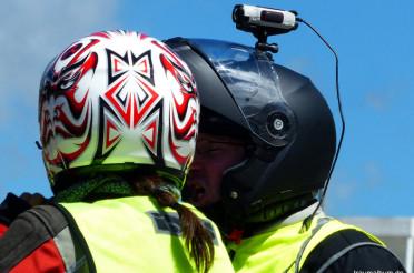 Die Action Cam am Helm und das Kreative Sonntagsrätsel #37