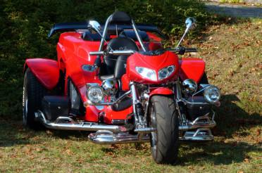 Ein rotes Trike und das Kreative Sonntagsrätsel #43