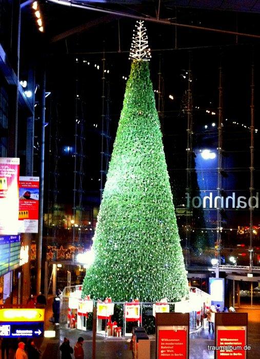 Der Weihnachtsbaum in Berlin und das letzte Sonntagsrätsel