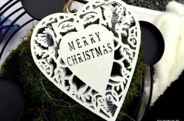 Merry Christmas – Schöne Weihnachten – Montagsherz #227