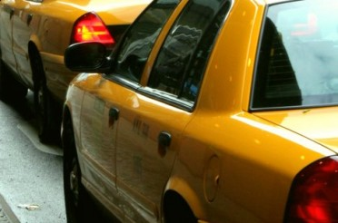 "Yellow Cabs in New York für Magic Letters ""Y"""