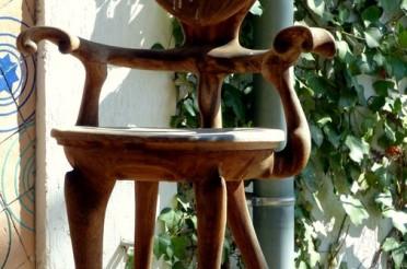 Stuhl mit Herz für das Montagsherz Nummer 233