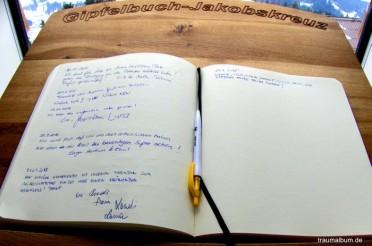 Ein Gipfelbuch ist auch so eine Art Herzensbuch #PPP6