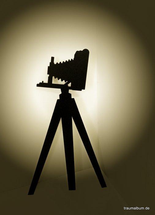 Kamera beim Fotoshooting
