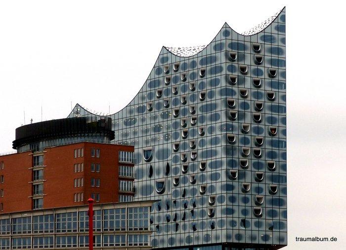 Elbphilharmonie in Hamburg für fremde fenster