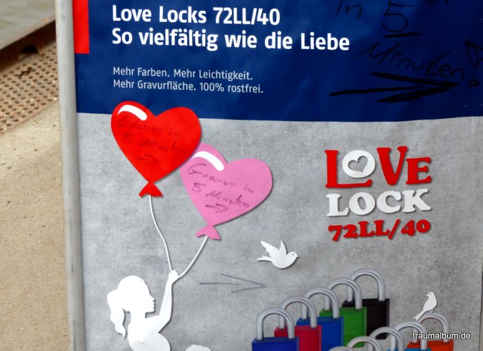 Love Locks Werbung