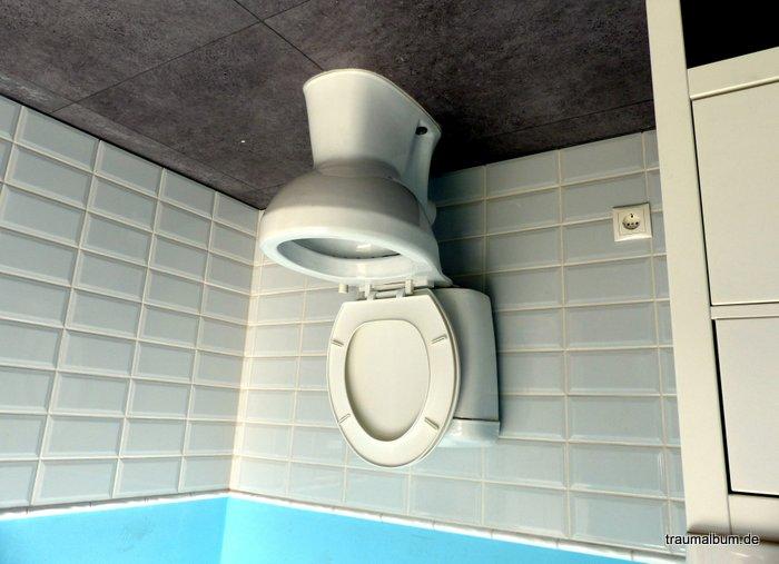 toilette verkehrt