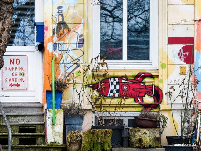 Hafenstraße - Bunte Zufluchtsorte in Hamburg-St. Pauli