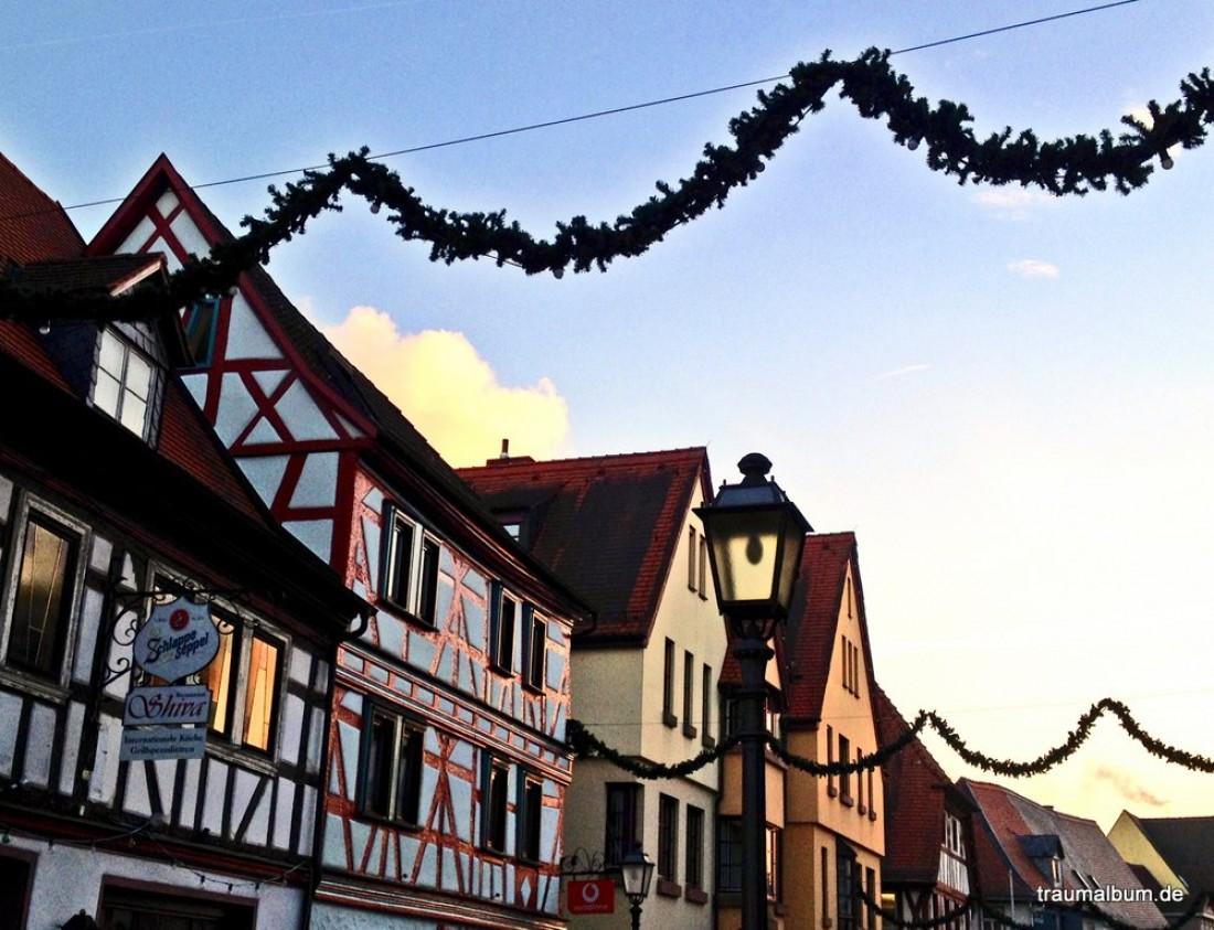 Himmel über Obernburg