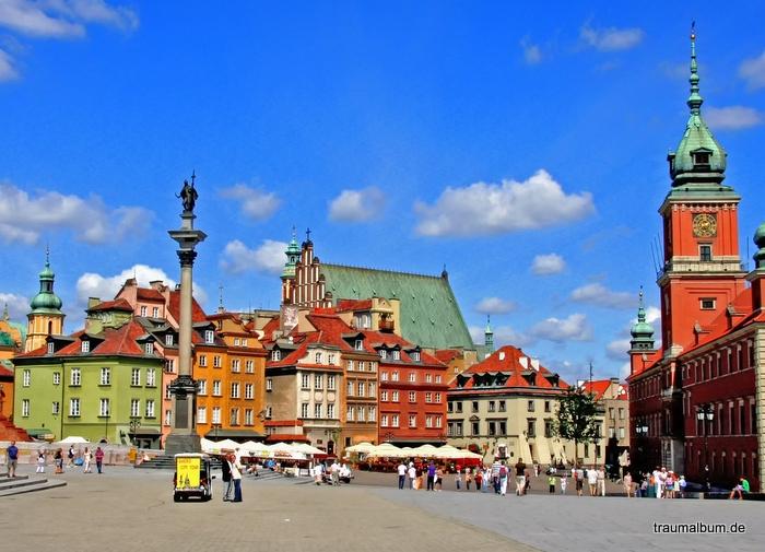Architektur der Glaspaläste von Warschau PPP#44