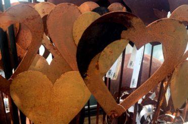 Rostige Herzen für das Montagsherz und die Rostparade