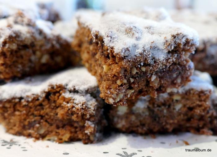 Aus der Weihnachtsbäckerei: Schoko-Zimt-Traum