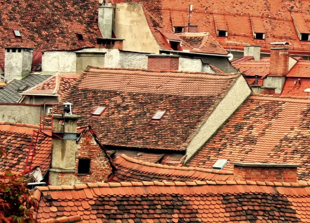 Dächer von Graz muster arabesque fotosammlung der besonderen art