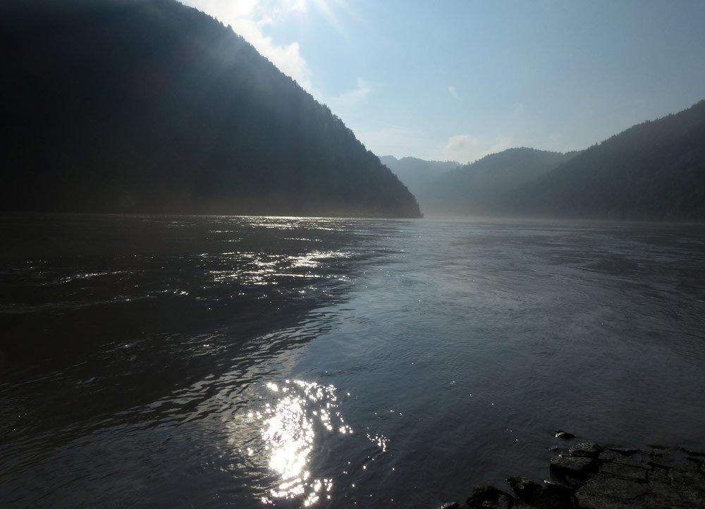 Donau bei Linz Fotosammlungen Traumalbum Wasser