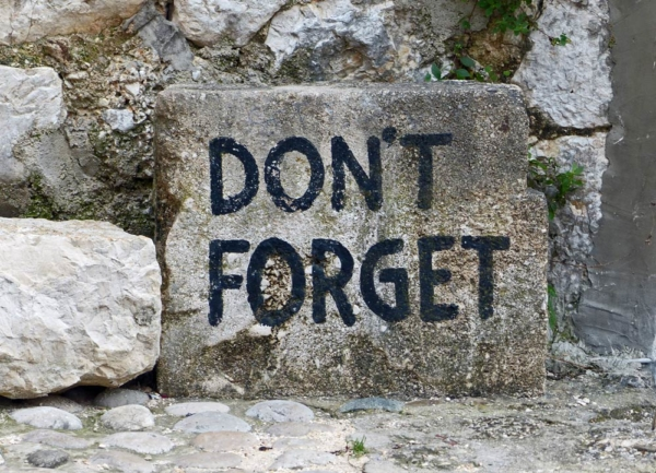 don't forget mostar bosnien memorabilien