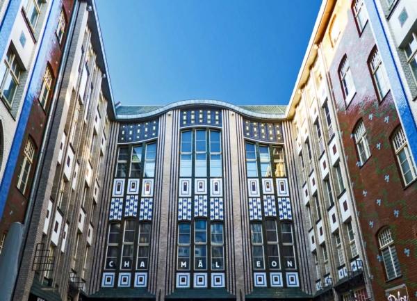 Hackesche Höfe Berlin fensterfront fotosammlung