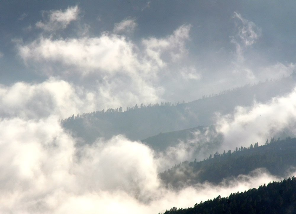 passatwolken teneriffa fotosammlungen der besonderen Art