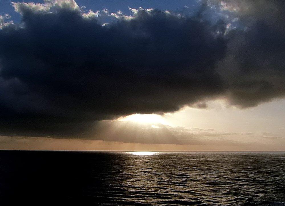 sonnenuntergang meer teneriffa eye in the sky