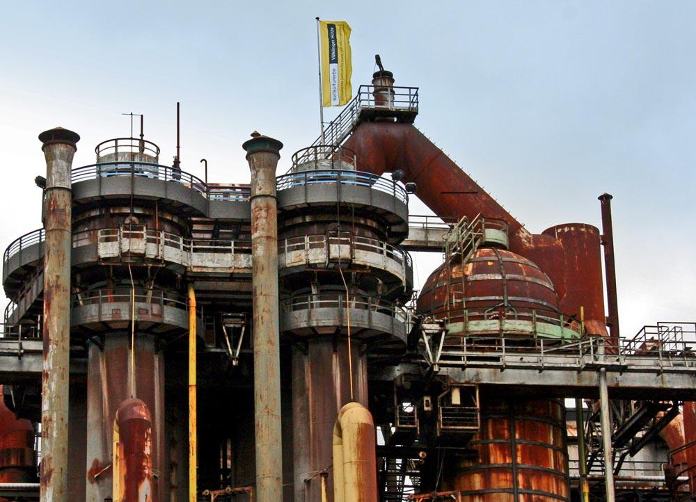 Völklinger Hütte weltkulturerbe industrie industrials