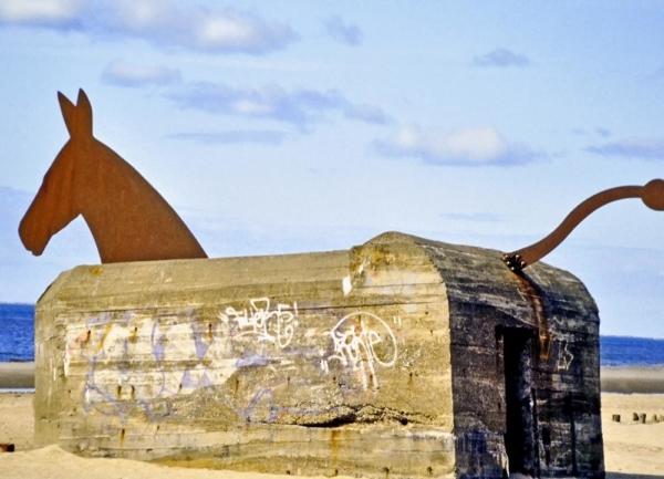 wehrmachtsbunker jütland dänemark memorabilien